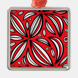 Healthy Ethical Honest Surprising Silver-Colored Square Decoration