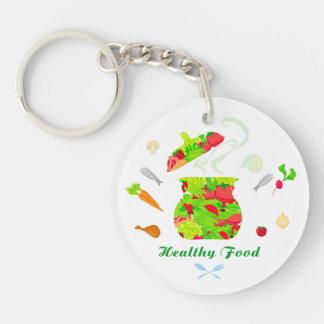 healthy food Key Ring