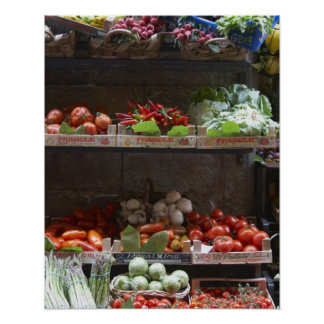 healthy fresh produce poster