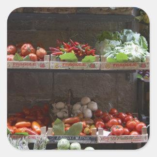 healthy fresh produce sticker