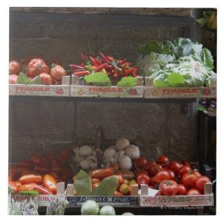 healthy fresh produce tile