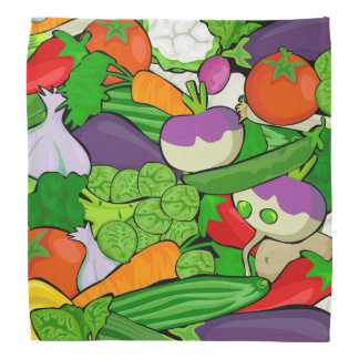Healthy Fresh Vegetables Medley Bandana