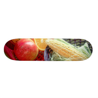 Healthy Fruit and Vegetables Skate Boards