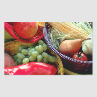 Healthy Fruit and Vegetables Sticker