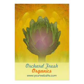 Healthy Glow/Artichoke Pack Of Chubby Business Cards