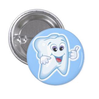 Healthy Happy Teeth 3 Cm Round Badge