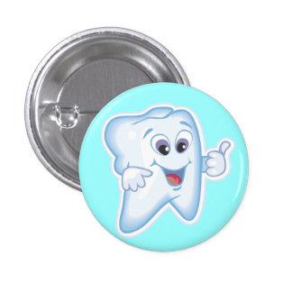 Healthy Happy Tooth 3 Cm Round Badge