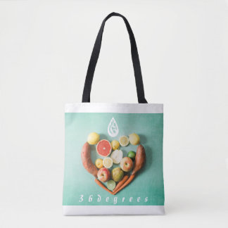 Healthy lifestyle inside and out tote bag