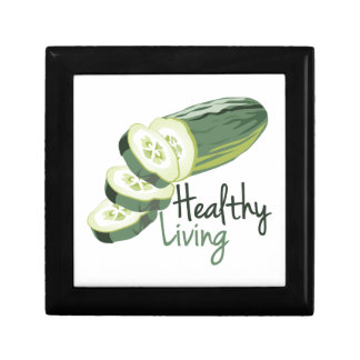 Healthy LIving Small Square Gift Box