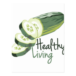 Healthy LIving Postcard
