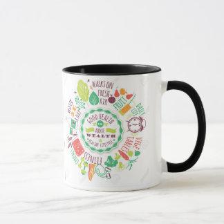 Healthy Living room Mug
