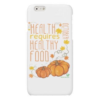 Healthy October Case iPhone 6 Plus Case