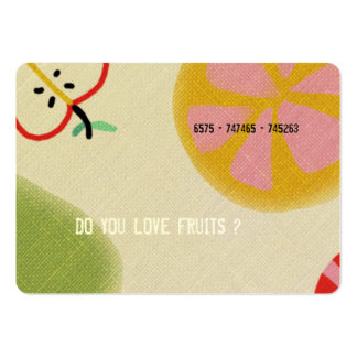 Healthy People Business Cards