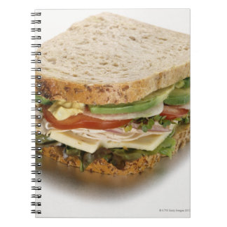 Healthy sandwich notebook