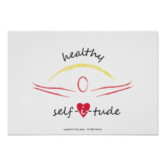 Healthy Selfitude poster