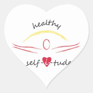 Healthy Selfitude stickers