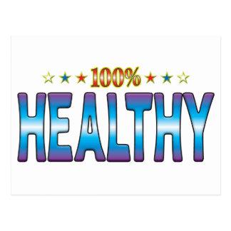 Healthy Star Tag v2 Postcard