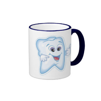 Healthy Teeth Ringer Mug