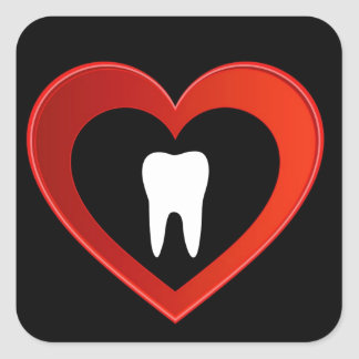 Healthy tooth sticker
