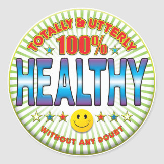 Healthy Totally Sticker