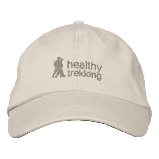 Healthy Trekking Stone Embroidered Travel Hat