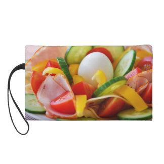 Healthy Vegan Breakfast Wristlet Clutches