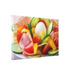 Healthy Vegan Breakfast Canvas Print