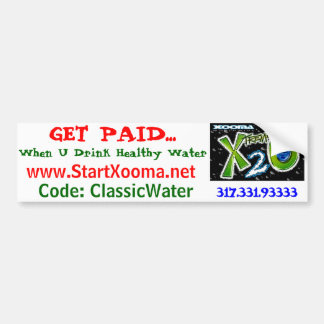 Healthy Weight Loss Water Bumper Sticker