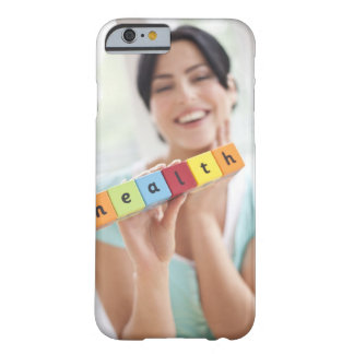 Healthy young woman, conceptual image. barely there iPhone 6 case