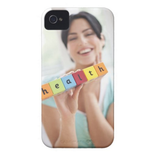 Healthy young woman, conceptual image. Case-Mate iPhone 4 case