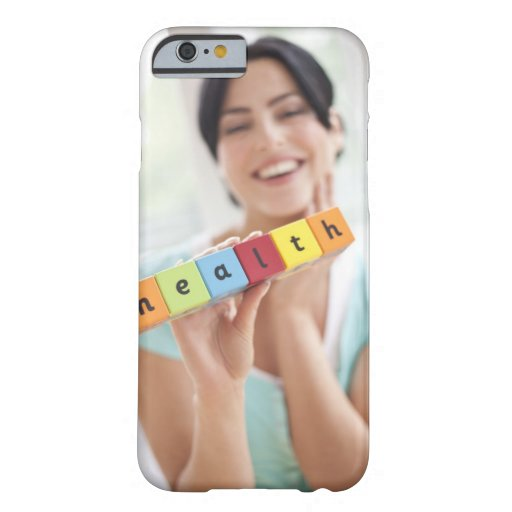 Healthy young woman, conceptual image. iPhone 6 case
