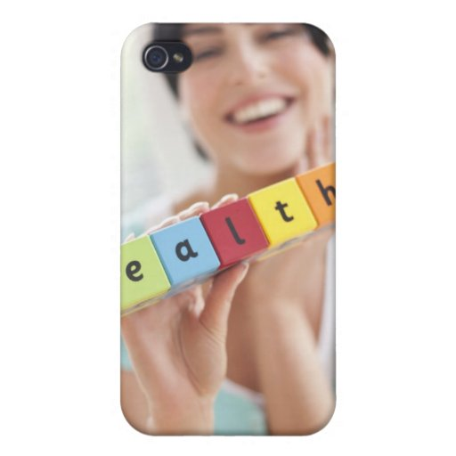 Healthy young woman, conceptual image. iPhone 4/4S cases