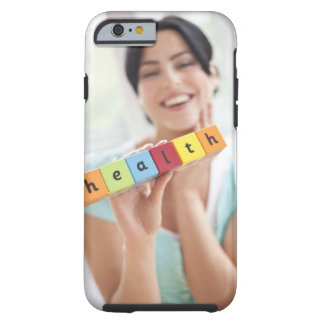 Healthy young woman, conceptual image. tough iPhone 6 case