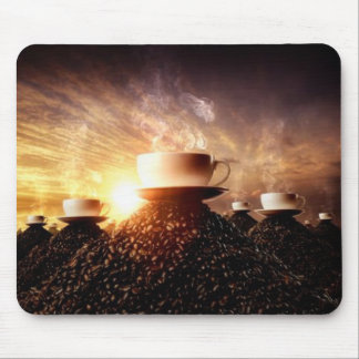 HealthyCoffee mountain mousemat Mouse Pads