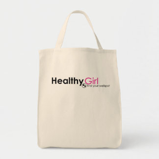 HealthyGirl Organic Tote Grocery Tote Bag
