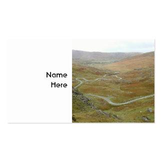 Healy Pass, Beara Peninsula, Ireland. Pack Of Standard Business Cards