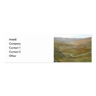 Healy Pass, Beara Peninsula, Ireland. Pack Of Skinny Business Cards