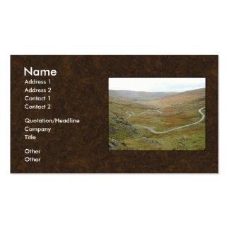 Healy Pass, Beara Peninsula, Ireland. Business Card Templates
