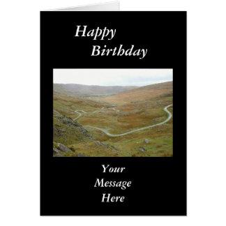 Healy Pass Beara Peninsula Ireland Card