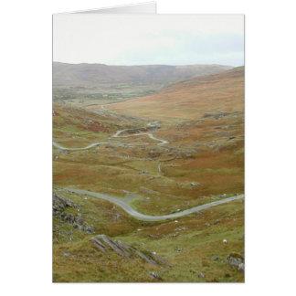 Healy Pass, Beara Peninsula, Ireland. Note Card