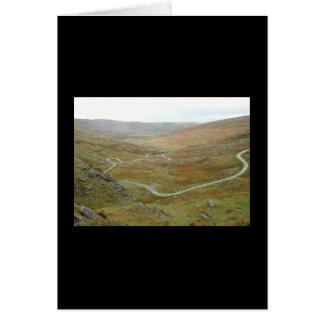 Healy Pass, Beara Peninsula, Ireland. Greeting Card