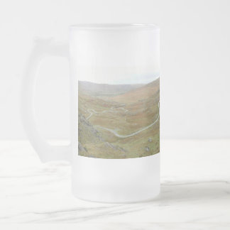 Healy Pass, Beara Peninsula, Ireland. Frosted Glass Mug