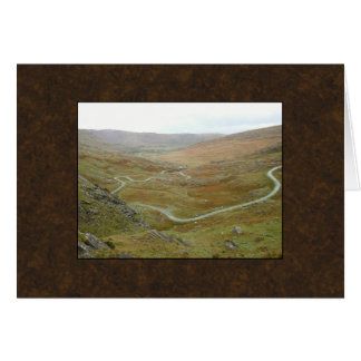 Healy Pass, Beara Peninsula, Ireland. Greeting Card