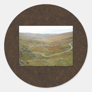 Healy Pass Beara Peninsula Ireland Stickers