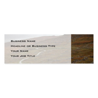 Healy Pass, Winding Road in Ireland. Business Card Templates