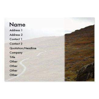 Healy Pass, Winding Road in Ireland. Pack Of Chubby Business Cards