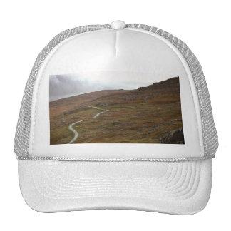 Healy Pass, Winding Road in Ireland. Hat
