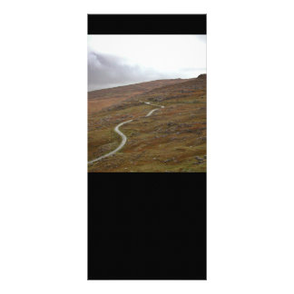 Healy Pass, Winding Road in Ireland. Full Color Rack Card