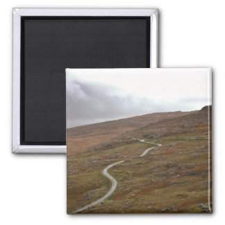 Healy Pass Winding Road in Ireland Refrigerator Magnets