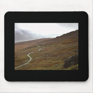Healy Pass Winding Road in Ireland Mousepad